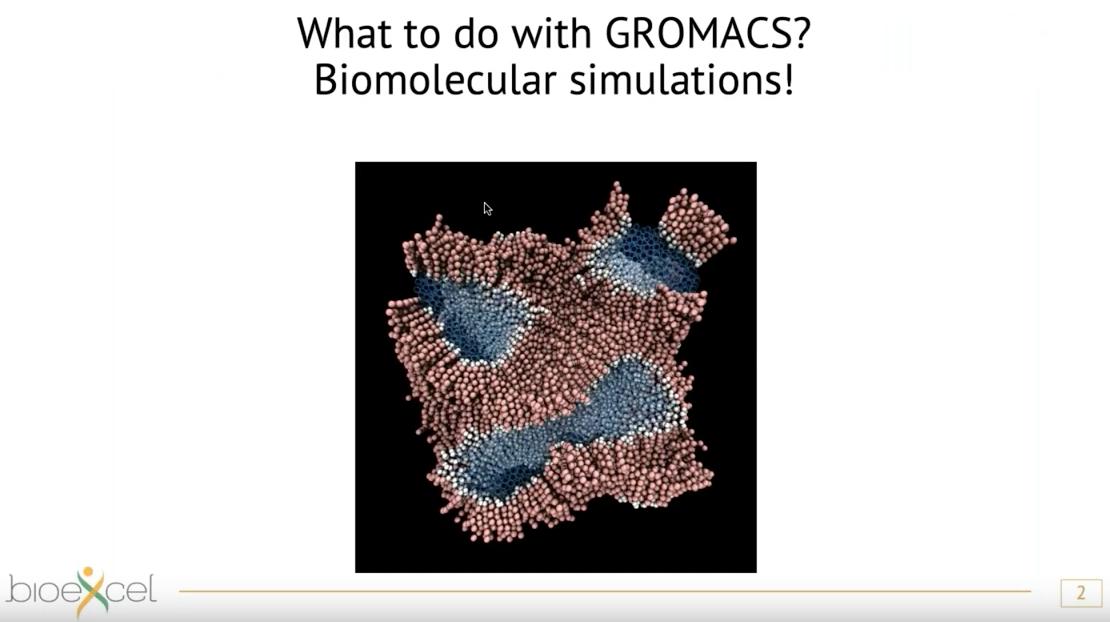 GROMACS webinar