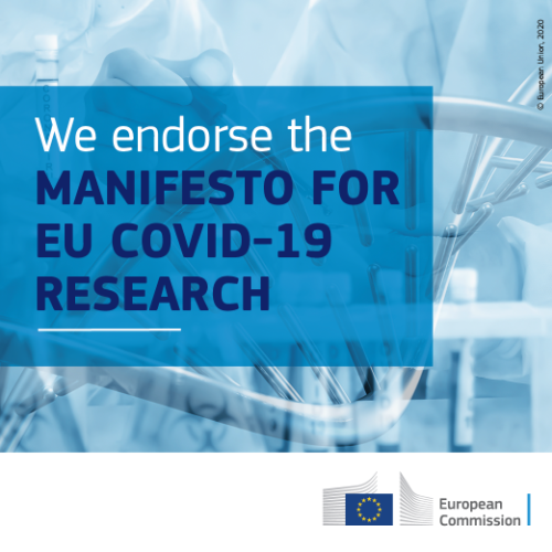 ManifestoEUCovid19Research_endorsers_Banner_500x500