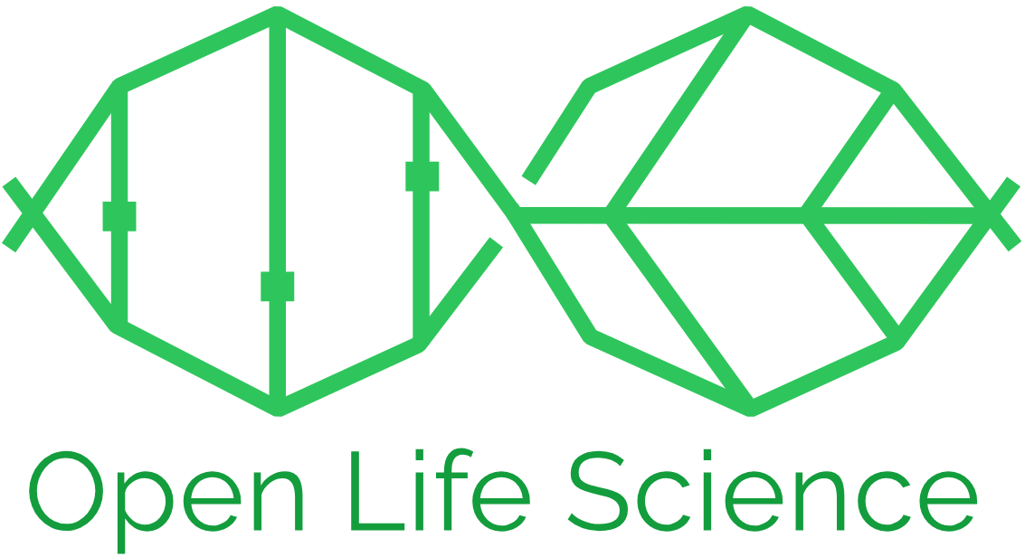 Open Life Science logo with infinity symbol