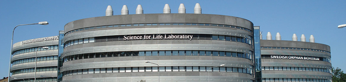 Grey Building with Science for Life laboratory