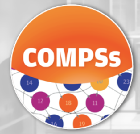 A circular COMPSs logo